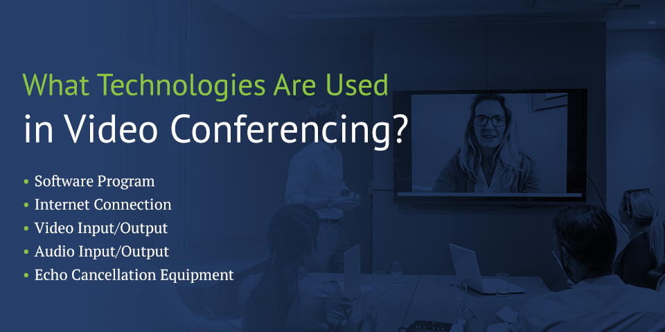 technologies used in video conferencing