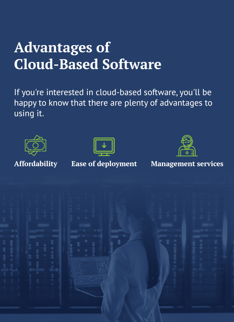 the advantages of cloud based software