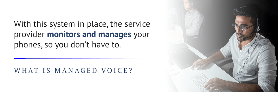 what is a managed voice provider