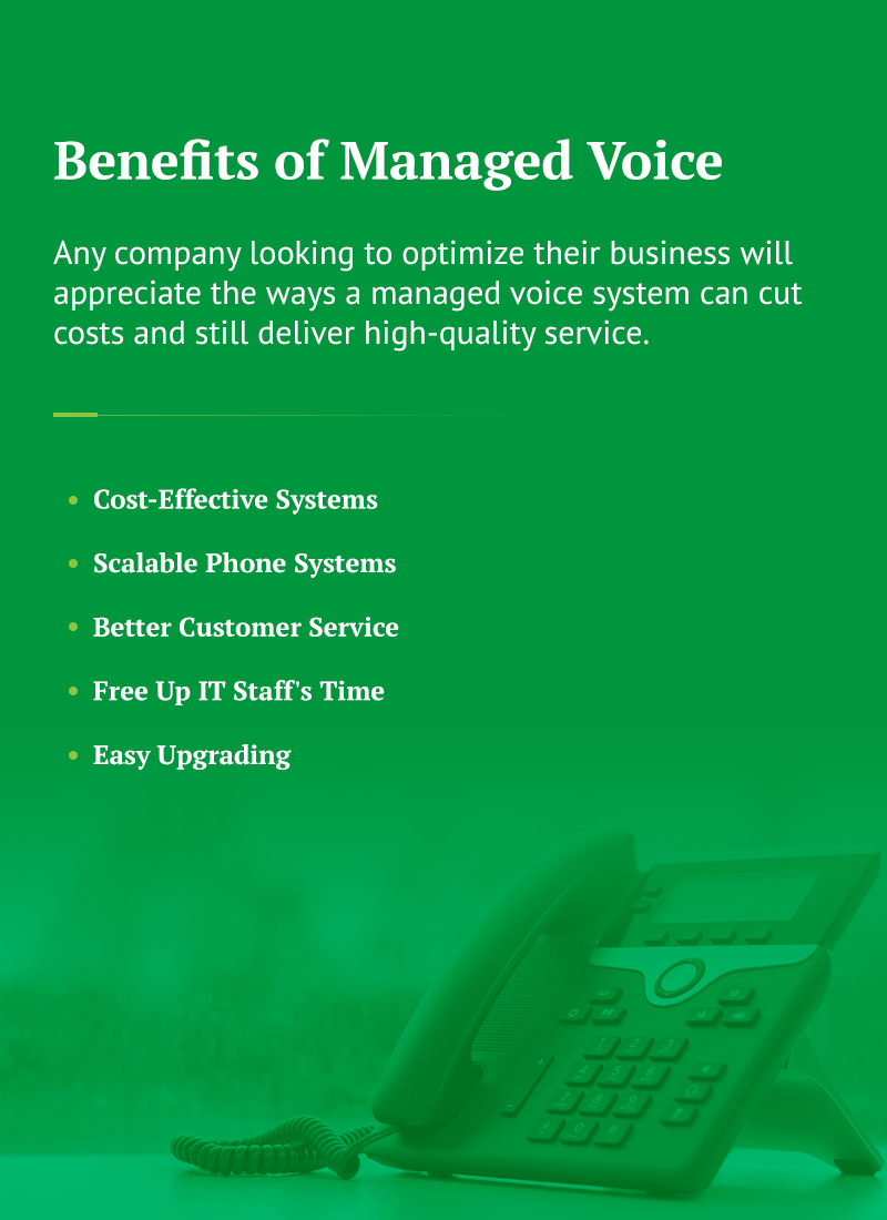 what are the benefits of managed voice