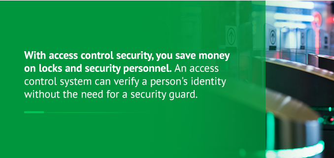 access control can save you money