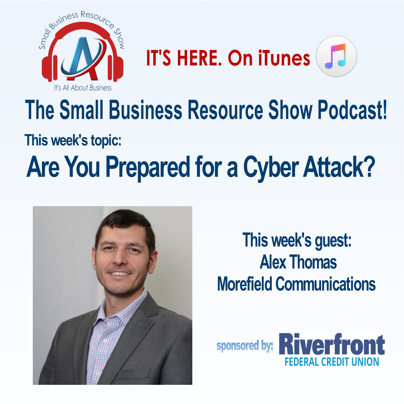 http://sbrashow.libsyn.com/are-you-prepared-for-a-cyber-attack-with-alex-thomas