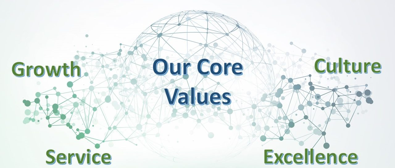Growth, Service, Culture, Excellence